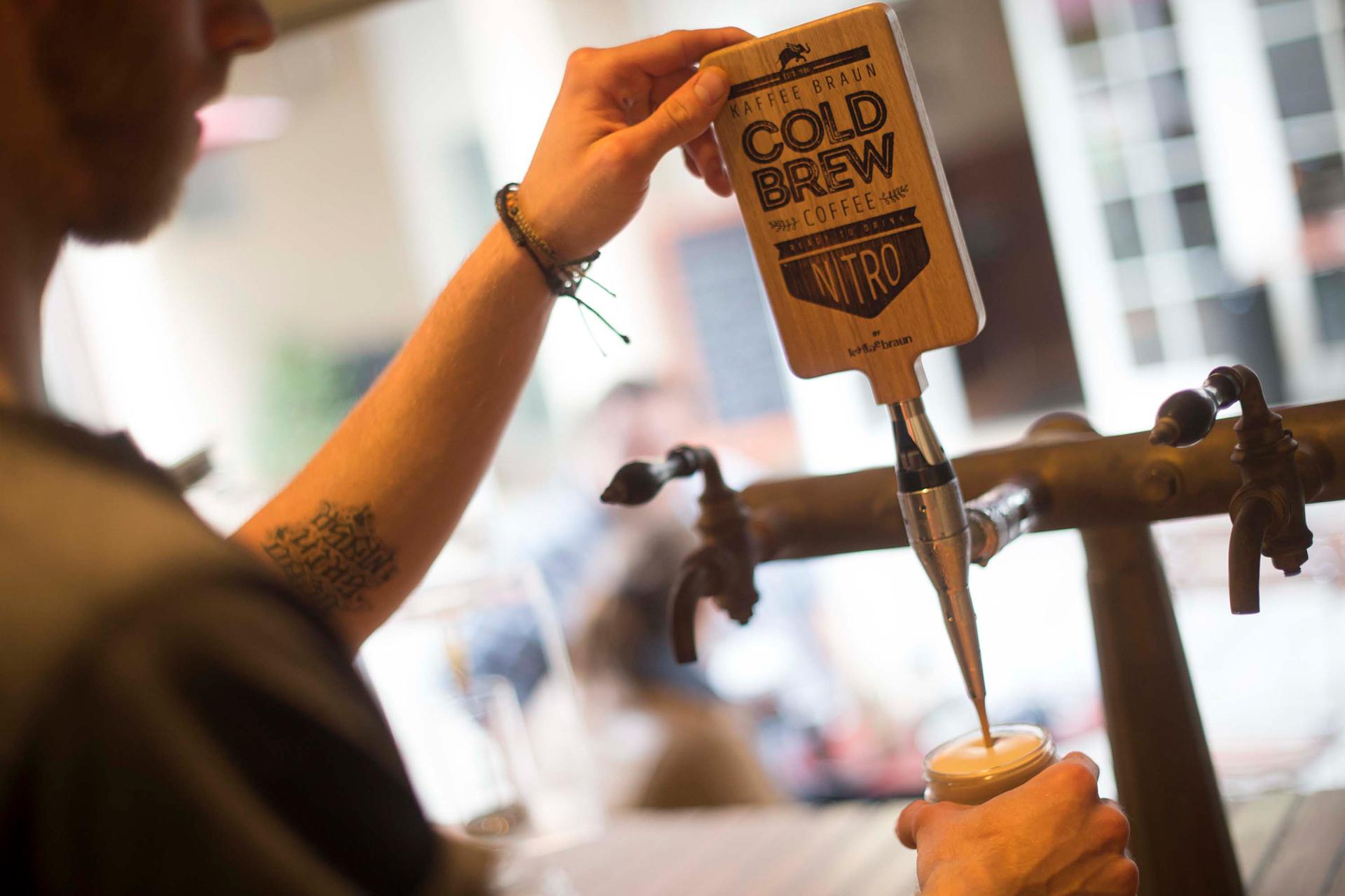 Cold Brew Coffee aus dem Zapfhahn