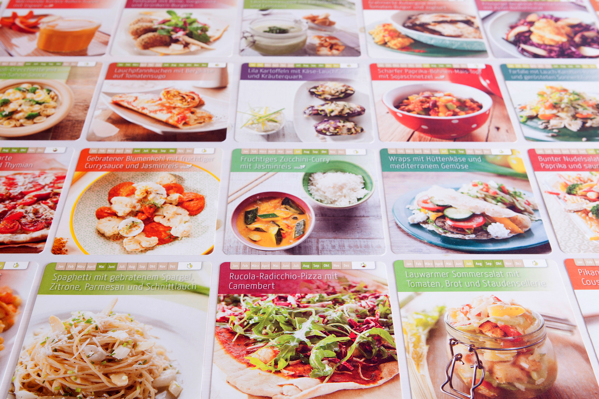 52 Rezeptkarten versprechen höchstes kulinarisches Feierabendglück