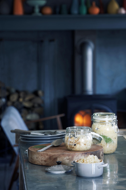 Selbst gemachtes Sauerkraut - gesund und lecker!