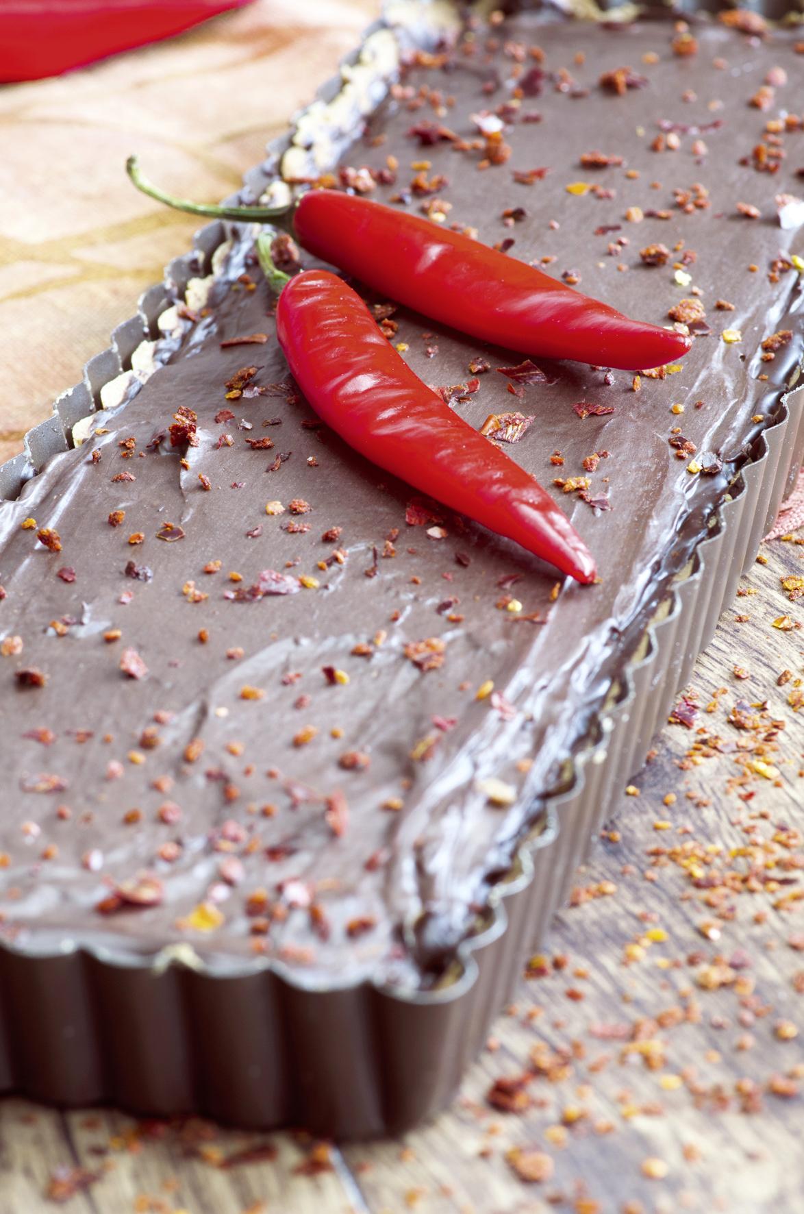 Leckerbissen für Naschkatzen: Tarte au chocolat