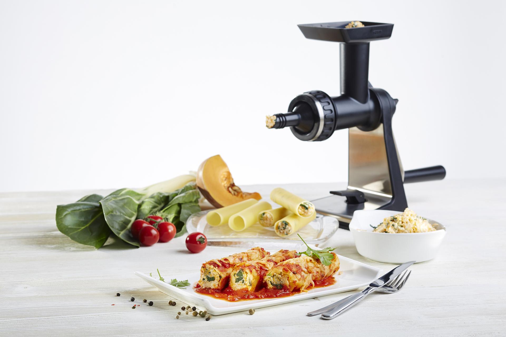 Einfach nur lecker: Cannelloni mit Kürbis-Mangold-Füllung