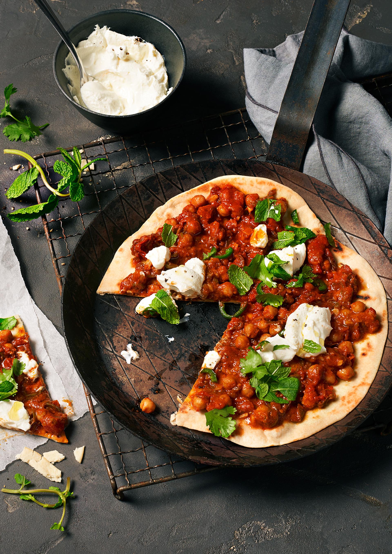 Achtung: Die Pfannenpizza im Shakshuka-Style kann süchtig machen!
