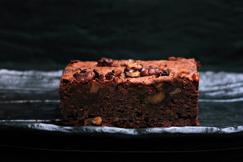 Chocolate Brownies mit Bio-Walnüssen von Hof Windkind