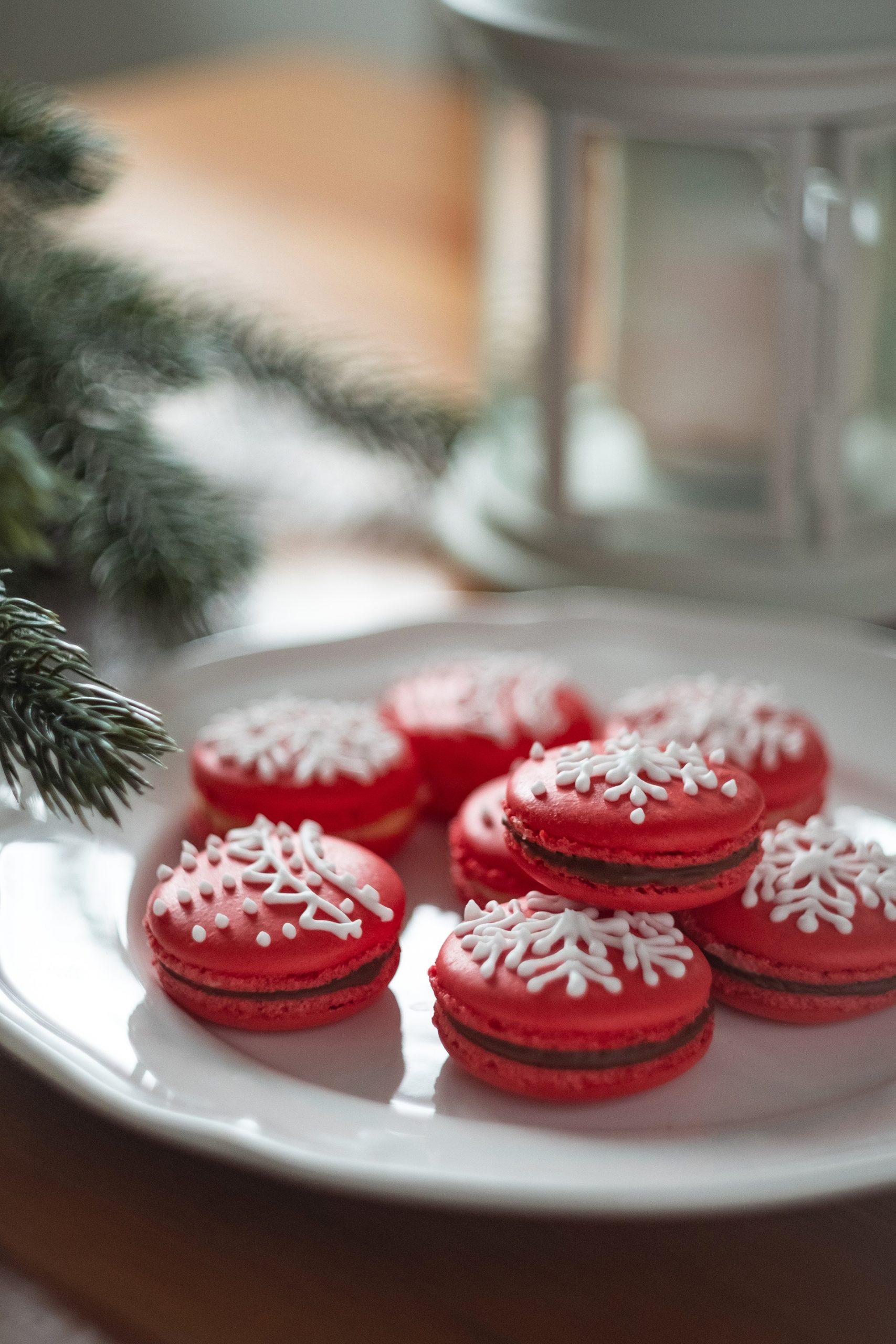 Süßer als Küsse vom Christkind: Santa's Christmas Macarons