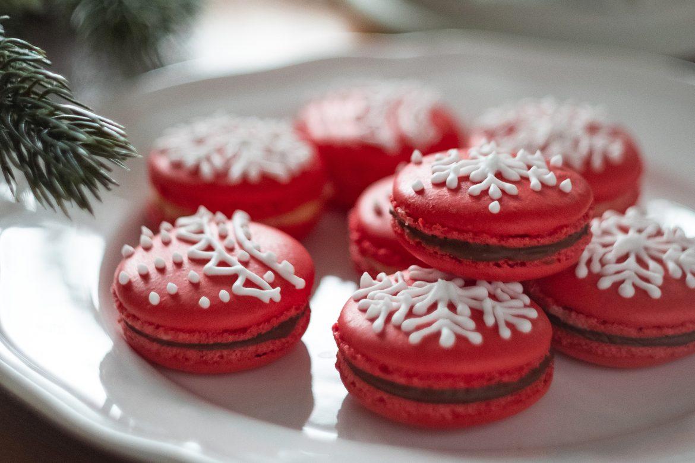 Santa's Christmas Macarons