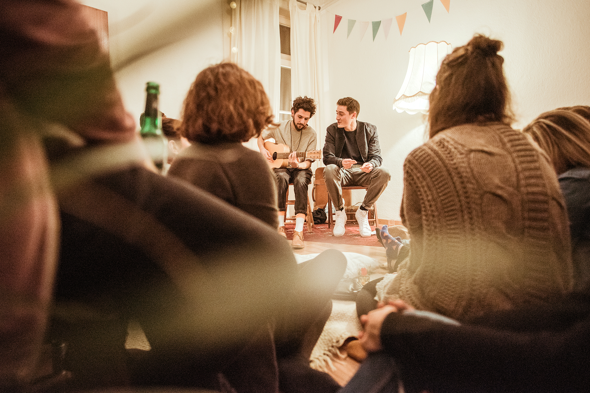 MUSIC CREATES WATER bringt Musiker und Musikliebhaber in entspannter Atmosphäre zusammen