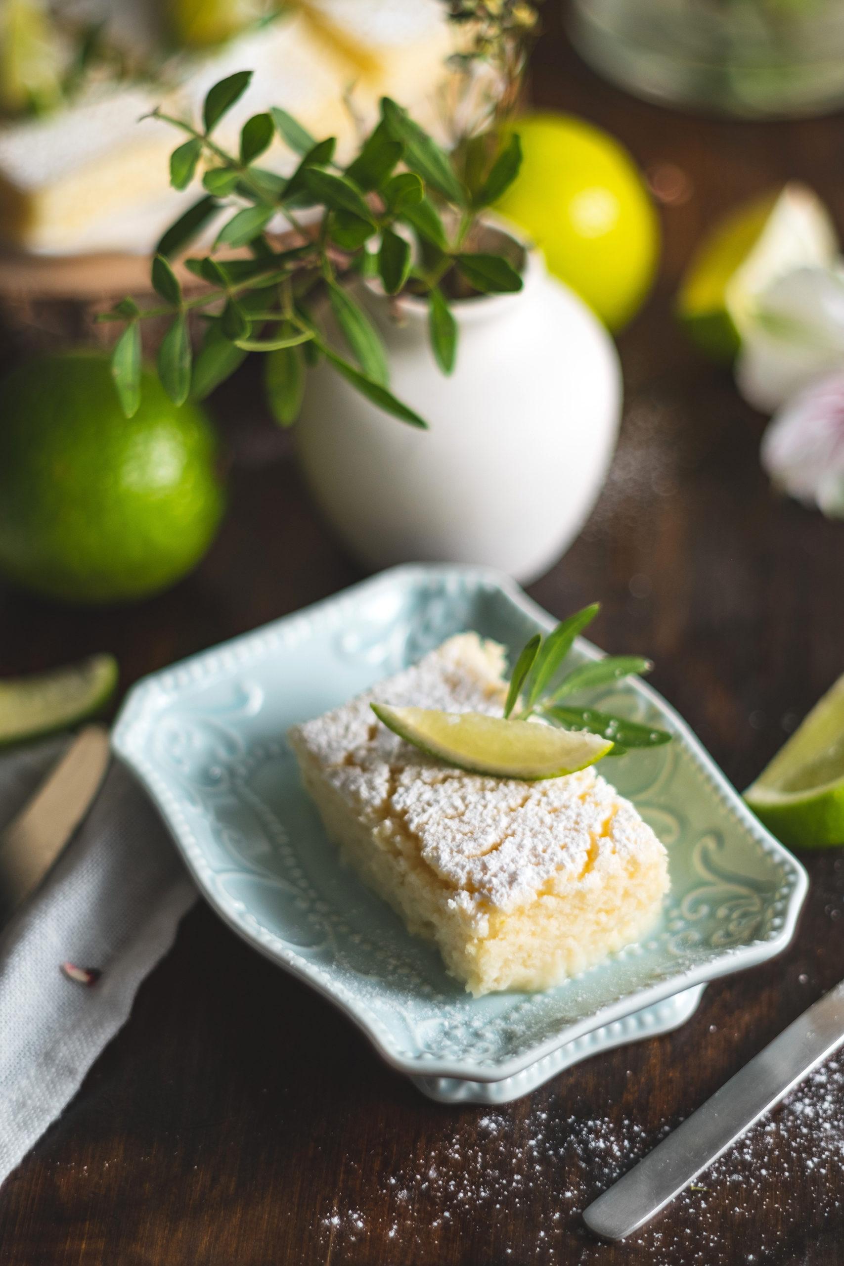 Limettenschnitten schmecken nicht nur zu Ostern
