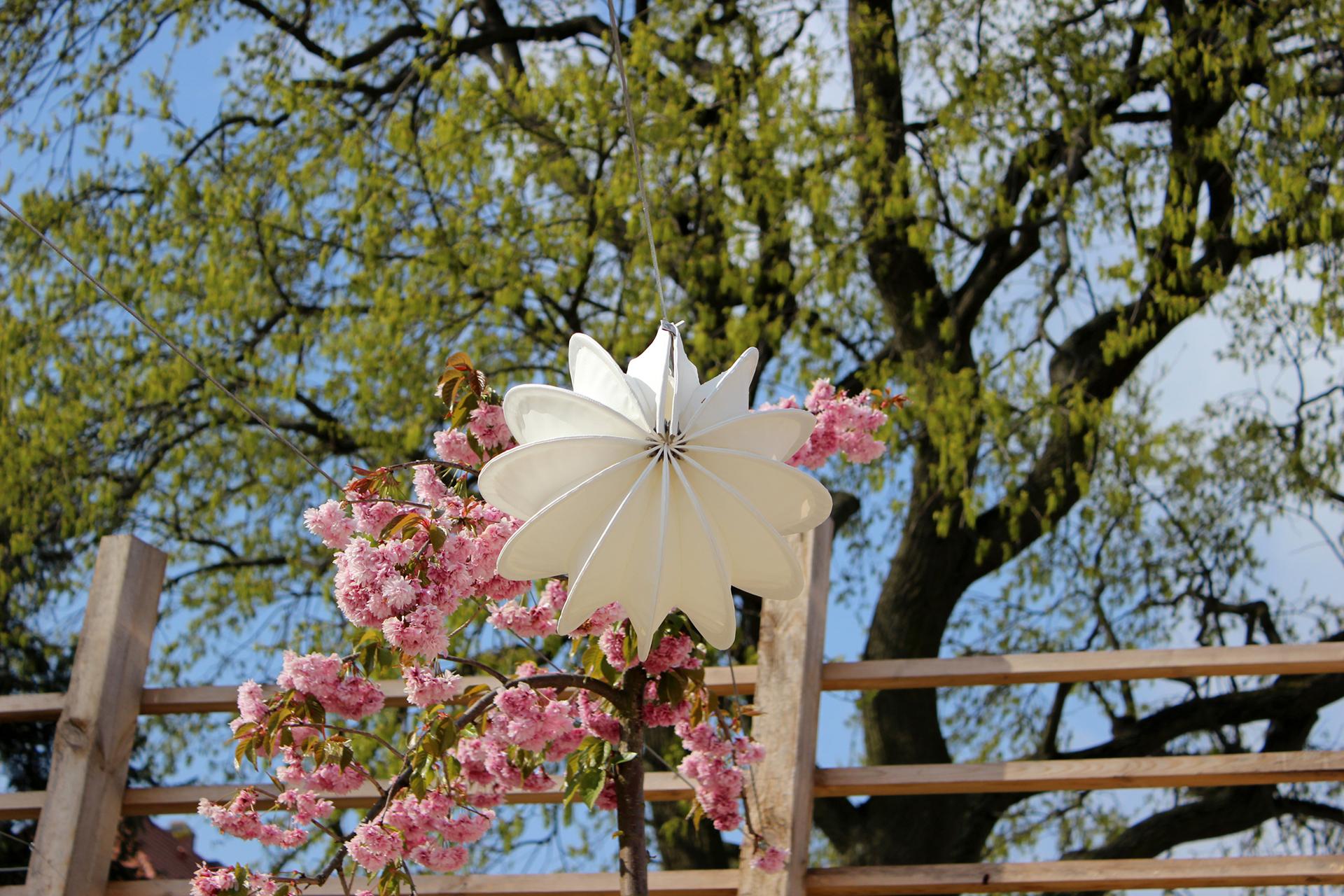 Eleganter Lampion für das Leben im Freien