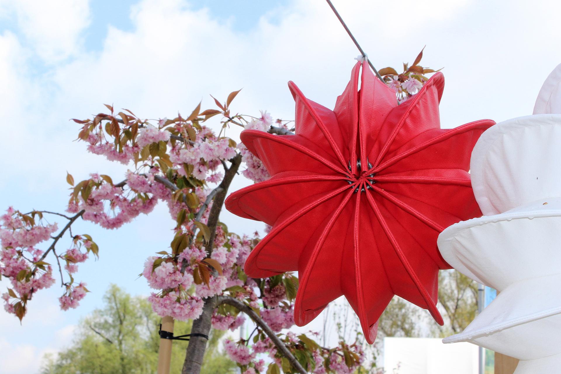 Attraktiver Blickfang: Outdoor-Lampions mit Solarmodul